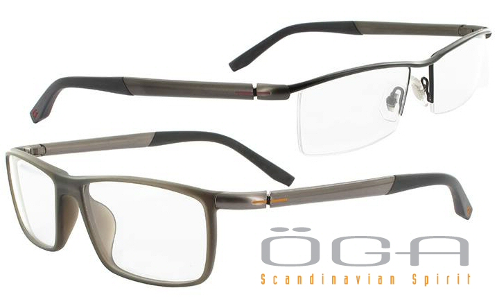 approach to eyewear with its taut and fluid lines the patented spring hinge system with cam return and anti rocking effect is provided by a visible